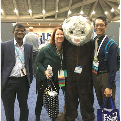 Damodaran Annamalai with residency mentors at AALAS Baltimore October 28-31, 2018